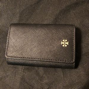 TORY BURCH Black 6-Key Case
